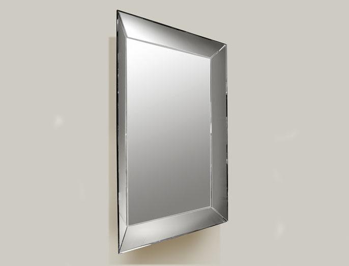 Espelho sem iluminação