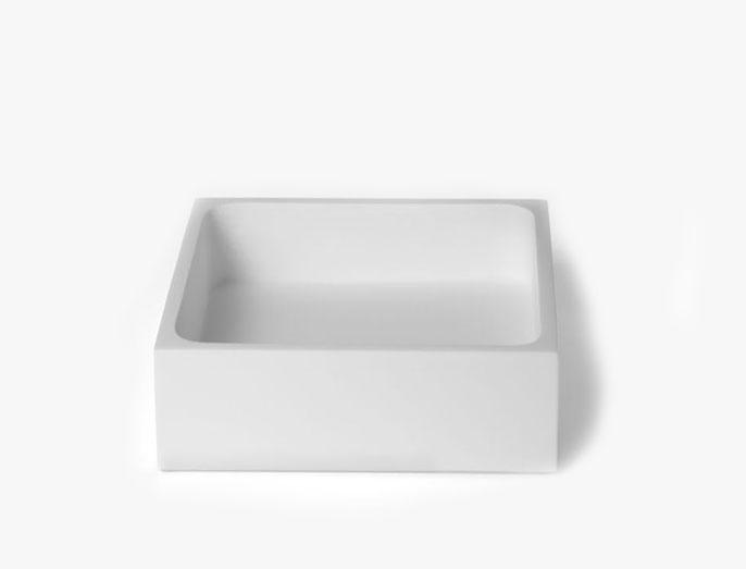 Quadrada Resina - Branca