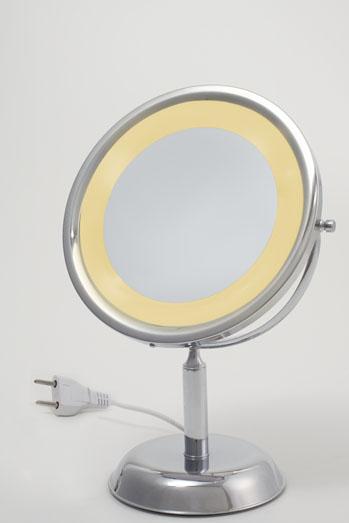 Espelho c/ luz mesa Crysb